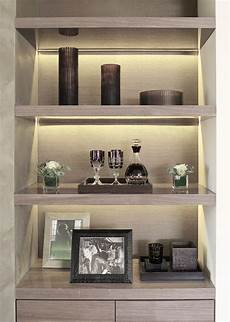 Interior Shelves by Recessed Lighting In The Shelf Luxury Home Decor