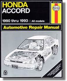 free online auto service manuals 1991 honda accord on board diagnostic system haynes honda accord 1990 1993 repair service maintenance manual
