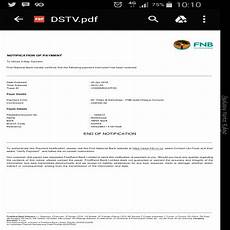 proof of payment fnb responded dstv billing and accounts dstv multichoice on hellopeter com