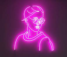 neon light wall art nz wall design ideas