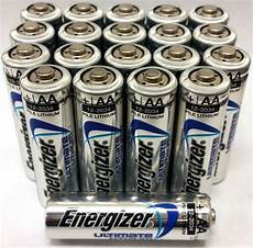 energizer ultimate lithium aa batteries 20 pack exp 2034