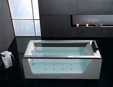 badewanne mit glas unique freestanding bathtubs stylish wood bathtubs and