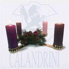 candele arredamento candeliere dell avvento per candele calandrini srl