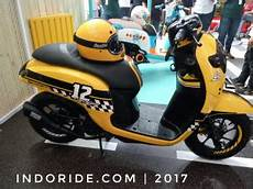 Scoopy Modif 2018 by Modifikasi Honda All New Scoopy Velg 12 Quot Ala Cafe Racer