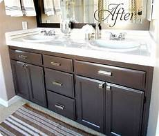 Oak Cabinet Bathroom Ideas by 139 Best Images About Bathroom Makeovers On