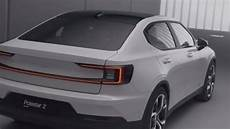 2020 polestar 2 ev new all electric model from volvo