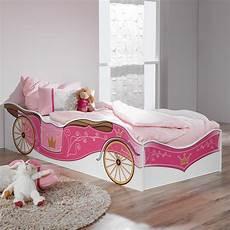 kinderbett kutsche kinderbett prinzessin kutsche rosa jugendbett bett