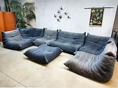 Togo Ligne Roset Vintage Design Lounge Bank Sofa
