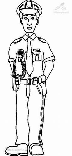 officer coloring pages career study
