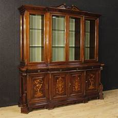 mobili credenze antiche antiques atlas italian bookcase in inlaid wood 20th century
