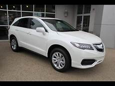 new white diamond pearl 2016 acura rdx awd with technology
