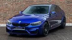 2018 bmw m3 competition package san marino blue walkaround interior exhaust sound youtube