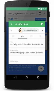 android filters pushbullet gets a update with material inspired