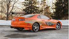 paul walker supra paul walker s fast and furious toyota supra is up for sale