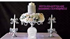 diy elegant glam wedding centerpiece youtube