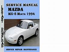 online auto repair manual 1994 mazda mx 5 instrument cluster mazda mx 5 miata 1994 service repair manual download manuals