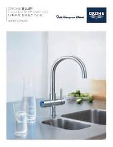 grohe blue water filter kitchen faucets grohe