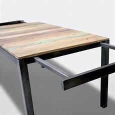 Table Style Industriel Avec Rallonges Beau Table Cuisine