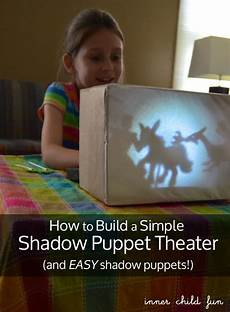 diy puppet theater shadow puppet theater how to make