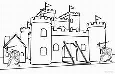 printable castle coloring pages for cool2bkids