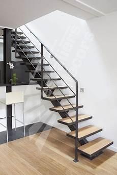 escalier d intérieur design photo dt79 esca droit 174 sur limon central escalier m 233 tal