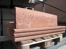 randsteine rot braun rasenkantensteine beton