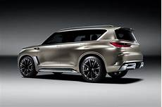 Infiniti Qx80 New Model 2020 by 2018 Infiniti Qx80 To Get Monograph Concept Styling Cues