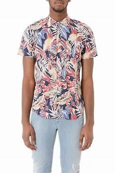 camicie fiori uomo ganesh camicia fantasia fiori a maniche corte primavera