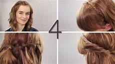 Einfache Frisuren Für Schulterlange Haare - haare 4 offene flechtfrisuren wasserfall zwirbeln