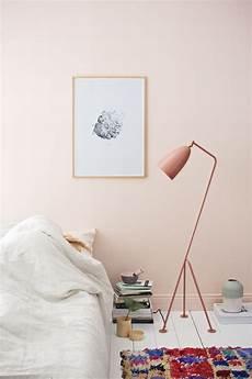 Helles Altrosa Wandfarbe - interior trend soft pink walls cate st hill