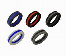 8mm width silicone rings men singles rubber wedding bands wholesalekings com