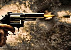 sticker autocollant poster a4 arme a feu pistolet revolver