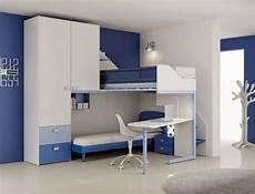 chambre garcon dormitorio para hermanos en azul ideas para decorar
