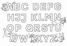 Buchstaben Ausmalbilder Zum Drucken Buchstaben Ausmalen Alphabet Malvorlagen Az Babyduda