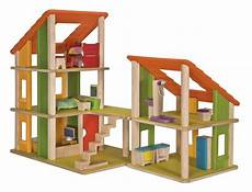 plan toys chalet dollhouse with furniture