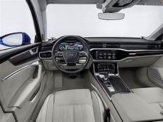 2018 Audi A6 Avant Interior Dashboard