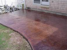 artistic concrete sted and stained concrete patios