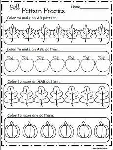 pattern coloring worksheets for kindergarten 323 make fall patterns coloring worksheet pattern worksheets for kindergarten patterning