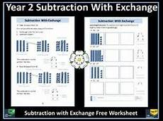 subtraction exchange worksheets 10070 subtraction year 2 subtraction with exchange free information sheet and worksheet teaching