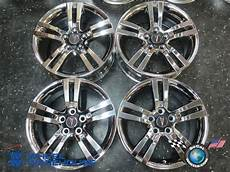 four 08 09 pontiac g8 factory chrome 18 wheels rims oem