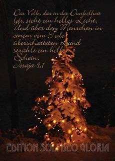 christliche postkarte 59 jesaja weihnachtskarte