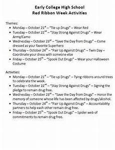 free red ribbon week activities for middle school students google search red ribbon week