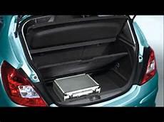 Opel Corsa Trunk Size