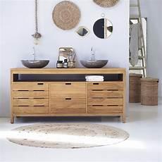 meuble en meuble salle de bain vente de meubles en teck serena xl tikamoon