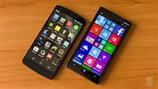 windows mobile 8 1 android l vs windows phone 8 1 guess who s catching up
