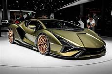 lamborghini sian offers hybrid thrust to the tune of 819 horsepower roadshow