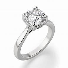 verona cushion cut engagement ring