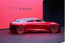 Kia Proceed Shooting Brake Concept On Show At Frankfurt