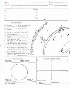 layers of the sun worksheet sun diagram worksheet sunspots solar observing by lesson