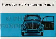 manual repair free 1967 volkswagen beetle user handbook 1966 1969 vw beetle bug and karmann ghia repair shop manual reprint